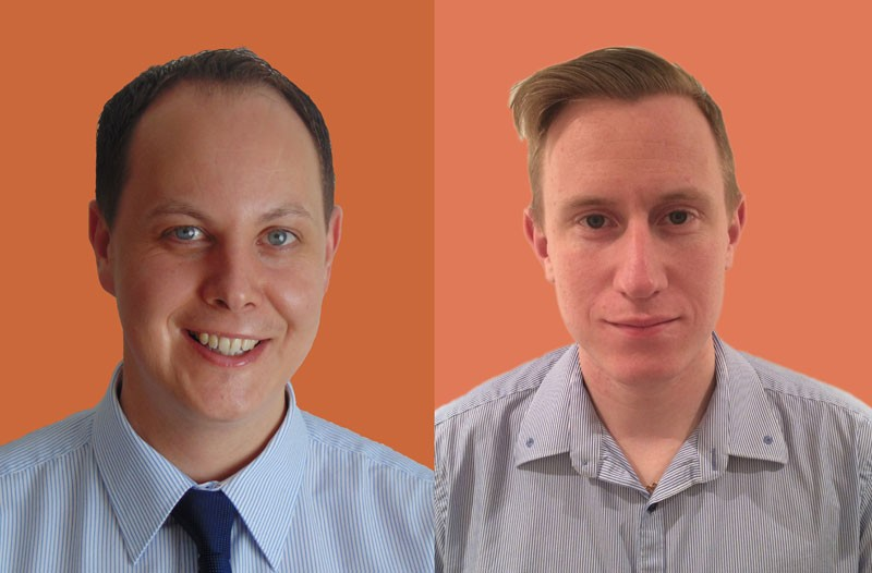 Martin Berry & Jack Haine - Senior Surveryor & Graduate Building Surveyor