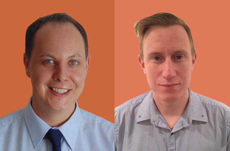 Martin Berry & Jack Haine - Senior Surveryor & Graduate Building Surveyor