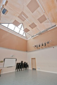 Chelmer Valley High School - Acoustic Works
