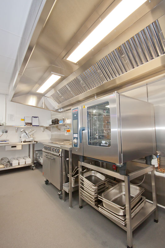 Great Leighs Primary School New Catering Kitchen