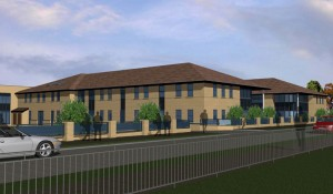 King John School Sixth Form Render