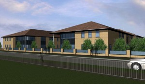 King John School Sixth Form Render