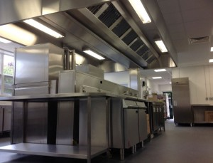 The King John School Kitchen