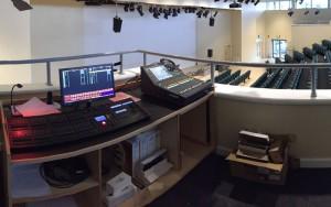 The King John School Theatre - Sound Engineering Equipment