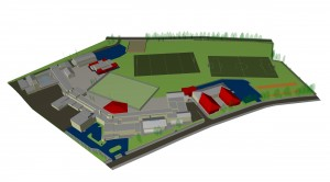 King John School - Site Massing