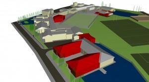 King John School - Site Massing
