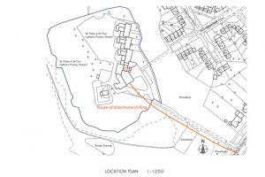 St Peter and St Paul Catholic Primary Academy Location Plans