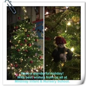 Midway Infants and Nursery School Christmas Greetings