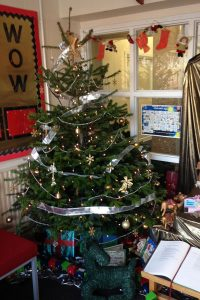 St Vincent Primary School Christmas Tree