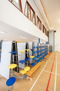 Roding Primary School - Mezzanine and Cafeteria