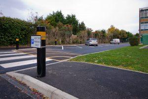 The King John School - Car Park - Service Road