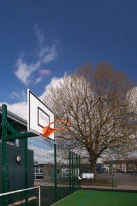 Avenue Primary School MUGA Basketball Court