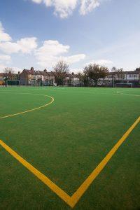Avenue Primary School MUGA Football Field