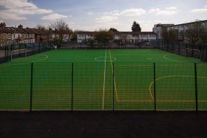 Avenue Primary School MUGA Football Field