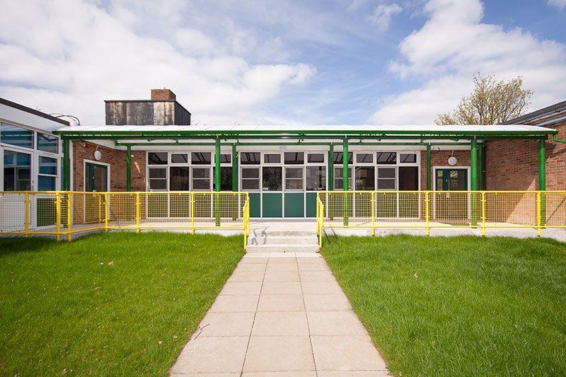 Fairhouse Primary School Canopy 2