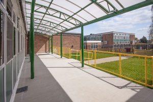 Fairhouse Primary School Canopy
