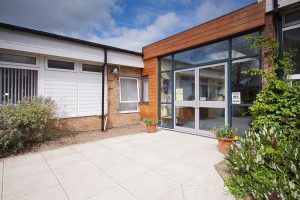 St. Albans Catholic Academy - Safeguarding for front entrance by Munday + Cramer
