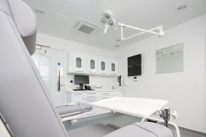 Pristine treatment facilities within Facemed Cosmetic Surgery