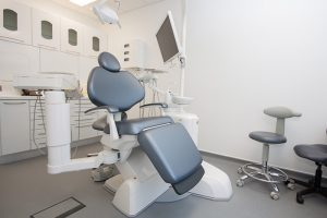One of a number of treatment rooms