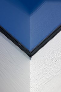 Water effect caused by sunlight on a rooflight detail at Facemed Cosmetic Surgery in Cray's Hill