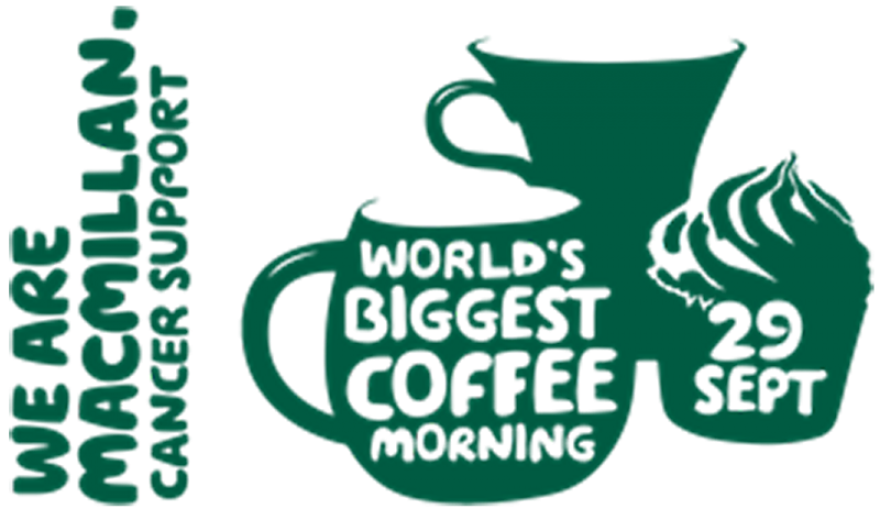 Munday + Cramer are supporting Macmillan's 'World's Biggest Coffee Morning' on Friday 29th September