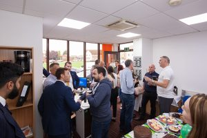 Staff and contractors enjoyed the Macmillan Coffee Morning hosted at Munday + Cramer's offices in South Woodham Ferrers.