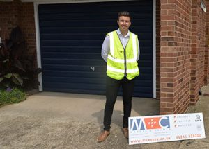 Michael Smith joined M+C this summer from local schools William De Ferrers , and is the company's first Degree Apprentice, studying Building Surveying at Anglia Ruskin University