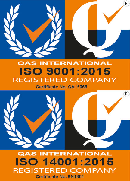 M+C has achieved double success in obtaining both ISO 9001:2015 and ISO 14001:2015 certification