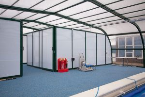 Sutton-at-Hone CoE Primary School swimming pool changing rooms