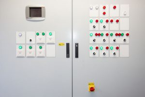 The Highway School - Boiler control panel