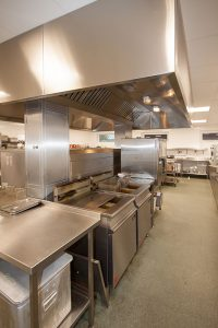 Hassenbrook Academy - Kitchen Refurbishment including remodelled central island
