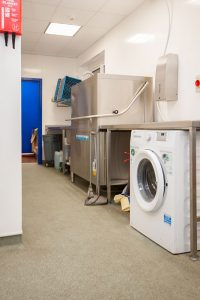 Hassenbrook Academy - Kitchen Remodelling featured new dedicated wash-up area