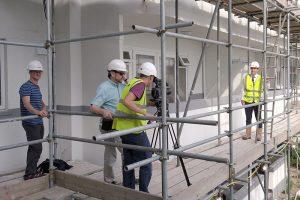 Degree Apprenticeship Shoot - Drone Image - Munday + Cramer
