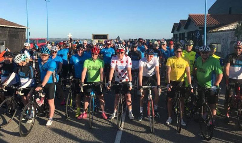 Mark Jackson - Charity Tour de France stage - Prostate Cancer UK