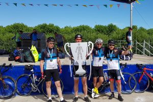 Mark Jackson Tour de France Stage for Prostate Cancer