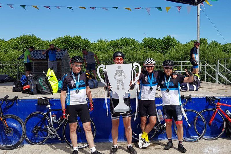 Mark Jackson Tour de France Stage for Prostate Cancer