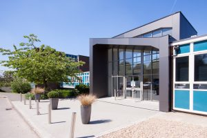 New Front Entrance - Beaconsfield High School - M+C