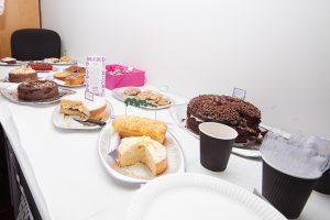 Macmillan coffee morning and bake off
