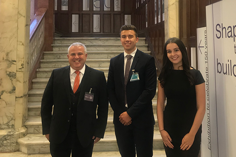 Munday + Cramer were part of the RICS 'All about SME' conference in London, speaking about their success with Degree Apprenticeships