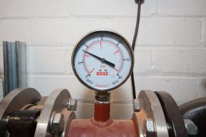 Pressure Gauge - Emergency Boiler Replacement