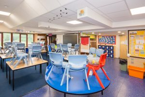 CIF-Funded Classroom Rewiring and Lighting - M+C