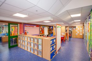 Munday + Cramer successfully achieved funding for a full rewire at Ryeded Primary School
