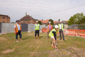 CIF funding enabled Chatham Grammar to break ground on their project recently.