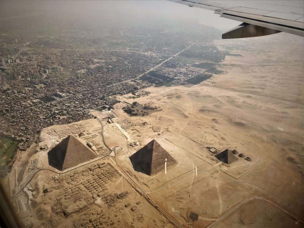 The pyramids are one of the greatest ever examples of human ingenuity and architectural design.