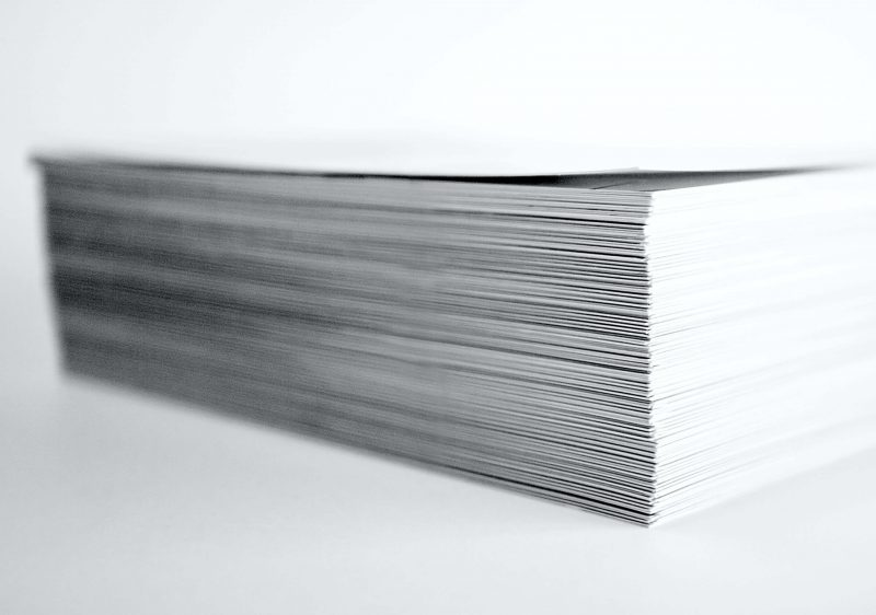 An image of paperwork, the sort you might find being used in building surveying dilapidations cases.