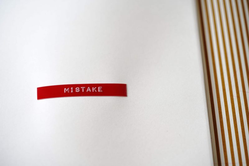The word mistake to represent architectural design failures.