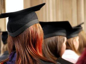 A group of graduates to represent degree apprenticeships