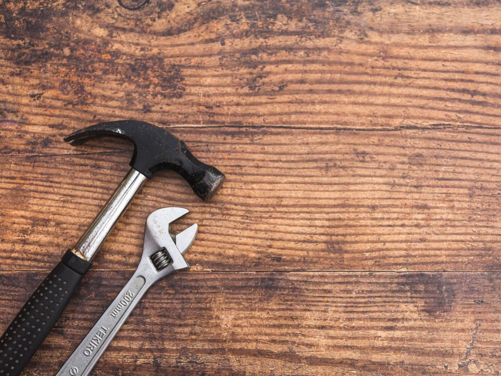 A hammer to represent our building surveying post on why housebuilders' costs are rising.